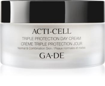 GA-DE Acti-Cell dreifach wirkende Creme für normale Haut und Mischhaut