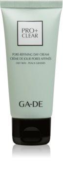 GA-DE Pro+Clear crema giorno per restringere i pori dilatati per pelli grasse