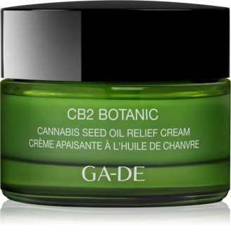GA-DE CB2 Botanic Soothing And Moisturizing Cream With Hemp Oil