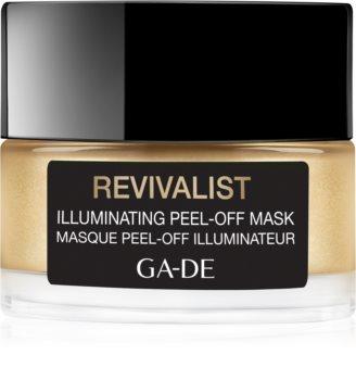GA-DE Revivalist Illuminating slupovací maska proti tmavým skvrnám