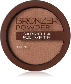 Gabriella Salvete Bronzer Powder polvos bronceadores SPF 15