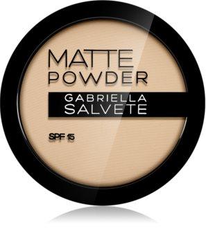 Gabriella Salvete Matte Powder poudre matifiante SPF 15
