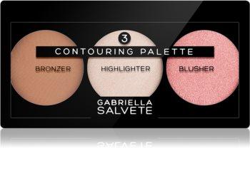 Gabriella Salvete Contouring Palette Púderes highlight és kontúr paletta