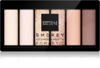 Gabriella Salvete Eyeshadow 6 Shades Palette paleta očních stínů