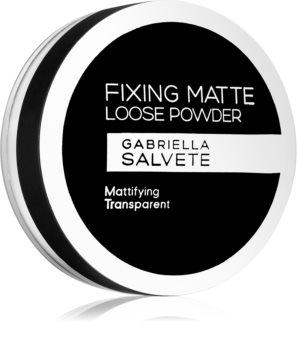 Gabriella Salvete Fixing Matte poudre de fixation transparente effet mat