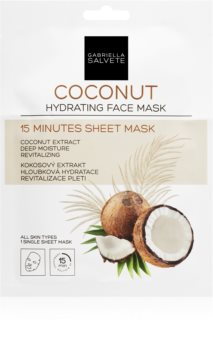 Gabriella Salvete Face Mask Coconut maska nawilżająca w płacie