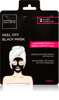 Gabriella Salvete Face Mask Black Peel Off masque noir peel-off visage