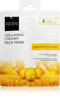 Gabriella Salvete Face Mask Collagen pleťová maska s protivráskovým účinkem