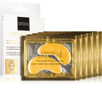 Gabriella Salvete Face Mask Collagen Gold maska pod oczy przeciw obrzękom i cieniom z kolagenem
