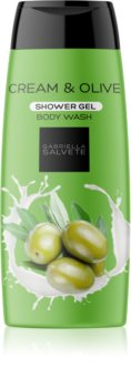 Gabriella Salvete Shower Gel Cream & Olive sanftes Duschgel für Damen