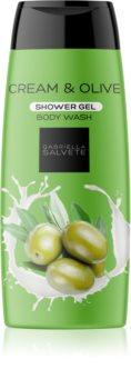 Gabriella Salvete Shower Gel Cream & Olive Silkeagtig brusegel Til kvinder