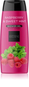Gabriella Salvete Shower Gel Raspberry & Sweet Mint gel de duche refrescante para mulheres