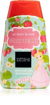 Gabriella Salvete Kids Strawberry sprchový gel pro děti