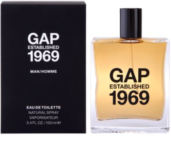 Gap Gap Established 1969 for Men eau de toilette para homens 100 ml