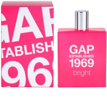 Gap Gap Established 1969 Bright toaletná voda pre ženy