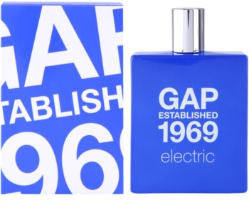 Gap Gap Established 1969 Electric Eau de Toilette para homens 100 ml