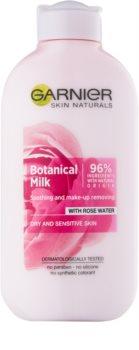 Garnier Botanical мляко за почистване на грим за суха до чувствителна кожа
