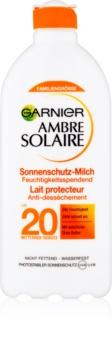 Garnier Ambre Solaire opaľovacie mlieko SPF 20