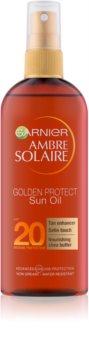 Garnier Ambre Solaire Golden Protect Aurinkoöljy SPF 20