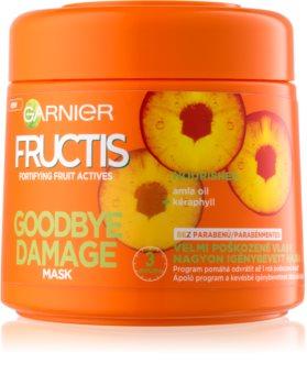 Garnier Fructis Damage Repair mascarilla fortalecedora para el cabello muy dañado