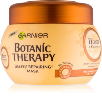 Garnier Botanic Therapy Honey mascarilla reparación para cabello maltratado o dañado
