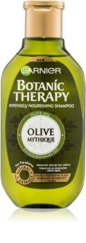 Garnier Botanic Therapy Olive Ravitseva Hiustenpesuaine Kuiville Ja Vaurioituneille Hiuksille