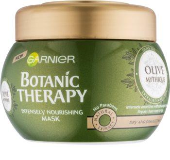 Garnier Botanic Therapy Olive masque nourrissant pour cheveux secs et abîmés