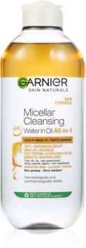Garnier Skin Naturals kétfázisú micellás víz tartós smink eltávolítására