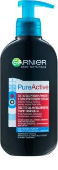 Garnier Pure Active почистващ гел  против черни точки