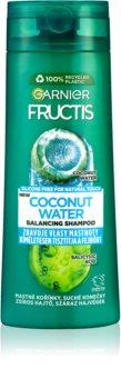 Garnier Fructis Coconut Water szampon wzmacniający