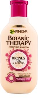 Garnier Botanic Therapy Ricinus Oil shampoing fortifiant pour les cheveux affaiblis ayant tendance à tomber