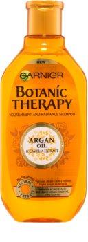 Garnier Botanic Therapy Argan Oil vyživující šampon pro normální vlasy bez lesku