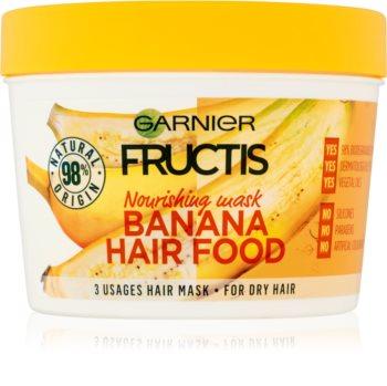 Garnier Fructis Banana Hair Food nährende Maske für trockenes Haar