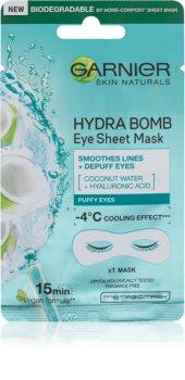 Garnier Skin Naturals Moisture+ Smoothness mască pentru ochi, cu efect de netezire
