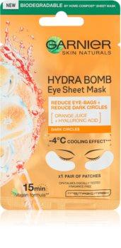 Garnier Skin Naturals Moisture+ Fresh Look mască înviorătoare pentru ochi