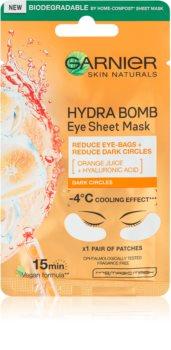 Garnier Skin Naturals Moisture+ Fresh Look pobudzająca maseczka pod oczy