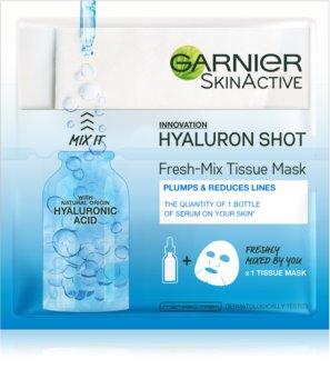 Garnier Skin Naturals Fresh Mix Mask Hyaluron maseczka  do skóry suchej