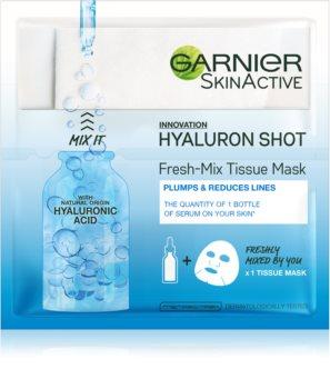 Garnier Skin Naturals Fresh Mix Mask Hyaluron maska za suho lice