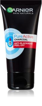 Garnier Pure Active maschera peel-off al carbone attivo contro i punti neri