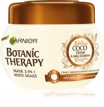 Garnier Botanic Therapy Coco Milk & Macadamia tápláló hajpakolás száraz hajra