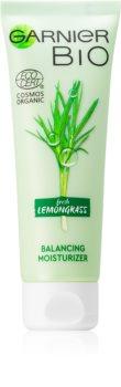 Garnier Bio Lemongrass освіжаючий зволожуючий крем для нормальної та змішаної шкіри