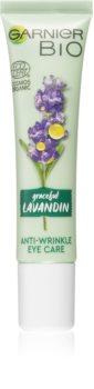 Garnier Bio Graceful Lavandin crema anti-imbatranire pentru ochi si buze