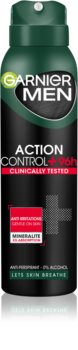 Garnier Men Mineral Action Control + antitranspirante en spray