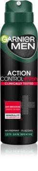 Garnier Men Mineral Action Control + spray anti-perspirant