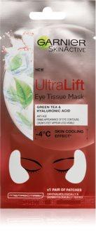 Garnier Skin Active Ultra Lift plátýnková maska proti vráskám na oční okolí