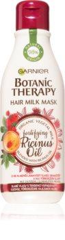 Garnier Botanic Therapy Hair Milk Mask Fortifying Ricinus Oil Haarmaske für schwaches Haar mit Neigung zum Haarausfall