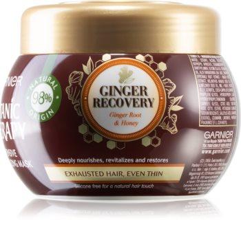 Garnier Botanic Therapy Ginger Recovery masque pour cheveux affaiblis et stressés