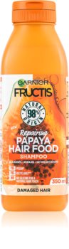 Garnier Fructis Papaya Hair Food Regenierendes Shampoo für beschädigtes Haar