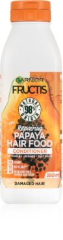 Garnier Fructis Papaya Hair Food регенериращ балсам за увредена коса