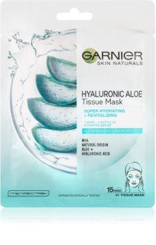 Garnier Skin Naturals Hyaluronic Aloe maska nawilżająca w płacie